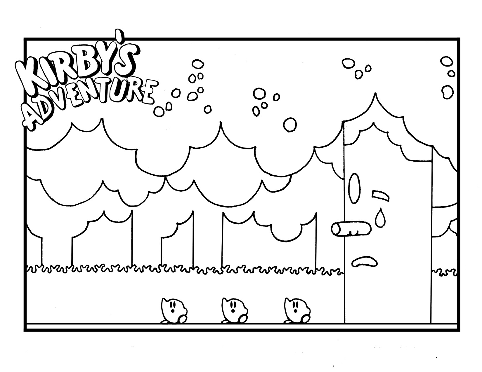 waddle dee coloring pages - photo #42